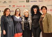 Μαρία Αντωνιάδου, Άννα Μαρία Παπίρη, Μαρία Γιαννίρη, Πρόεδρος της Παναθηναϊκής Οργάνωσης Γυναικών Ελλάδος, Μαρία Καρδάση, Έφη Μπούνα, Ειδική Γραμματέας της Παναθηναϊκής Οργάνωσης Γυναικών Ελλάδος.