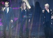 Ο Κώστας Μακεδόνας, η Έλενα Παπαρίζου και η Μαρινέλλα