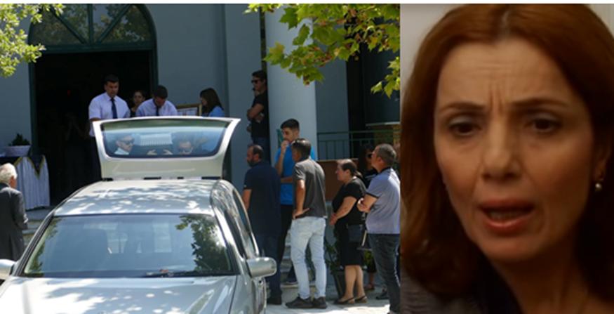 Θλίψη στην κηδεία της ηθοποιού Ελισάβετ Ναζλίδου στην Λάρισα