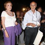Μπέττυ Αρβανίτη: Σπάνια βραδινή έξοδος με τον σύζυγό της