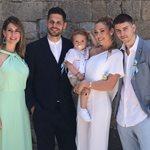 Μικαέλα Φωτιάδη - Γιάννης Μπορμπόκης: Οι πρώτες φωτογραφίες από την βάφτιση του γιου τους