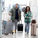 Paparazzi! Γρηγόρης Αρναούτογλου – Νάνσυ Αντωνίου: Ερωτευμένοι στο αεροδρόμιο