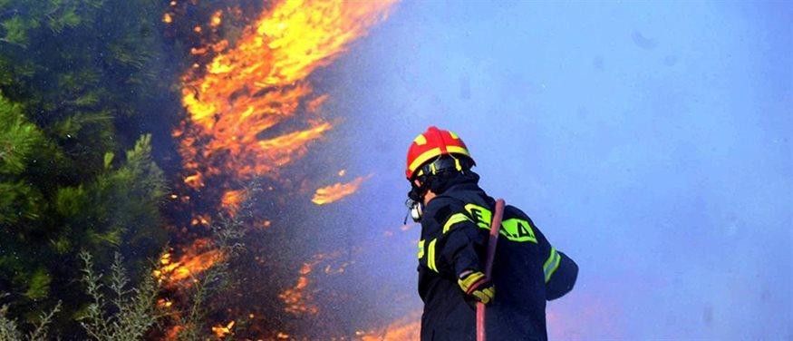 Μπαράζ πυρκαγιών σε όλη την χώρα