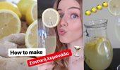 Τάδε...Έφη - Πως να φτιάξεις σπιτική λεμονάδα με τζίντζερ