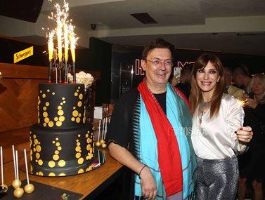 Γενέθλια για τον Γιάννη Καζανίδη με λαμπερούς καλεσμένους