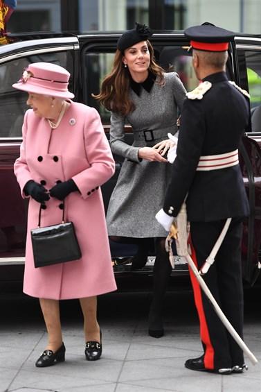 Κέιτ Μίντλετον-βασίλισσα Ελισάβετ: Κοινή δημόσια εμφάνιση μετά από 7 χρόνια