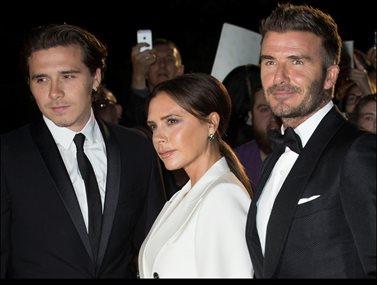 David Beckham: Ο γιος του, Brooklyn είναι ερωτευμένος και η σύντροφός του είναι ίδια η μητέρα του