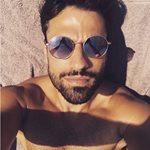 Κωνσταντίνος Αργυρός: Χαλαρές στιγμές σε παραλία της Χαλκιδικής