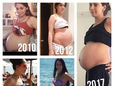 Ολυμπία Χοψονίδου: Αποκαλύπτει πόσα κιλά είχε πάρει στις προηγούμενες εγκυμοσύνες της
