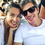 Paparazzi! Η Μαριέττα Χρουσαλά και ο Λέων Πατίτσας στο αεροδρόμιο!
