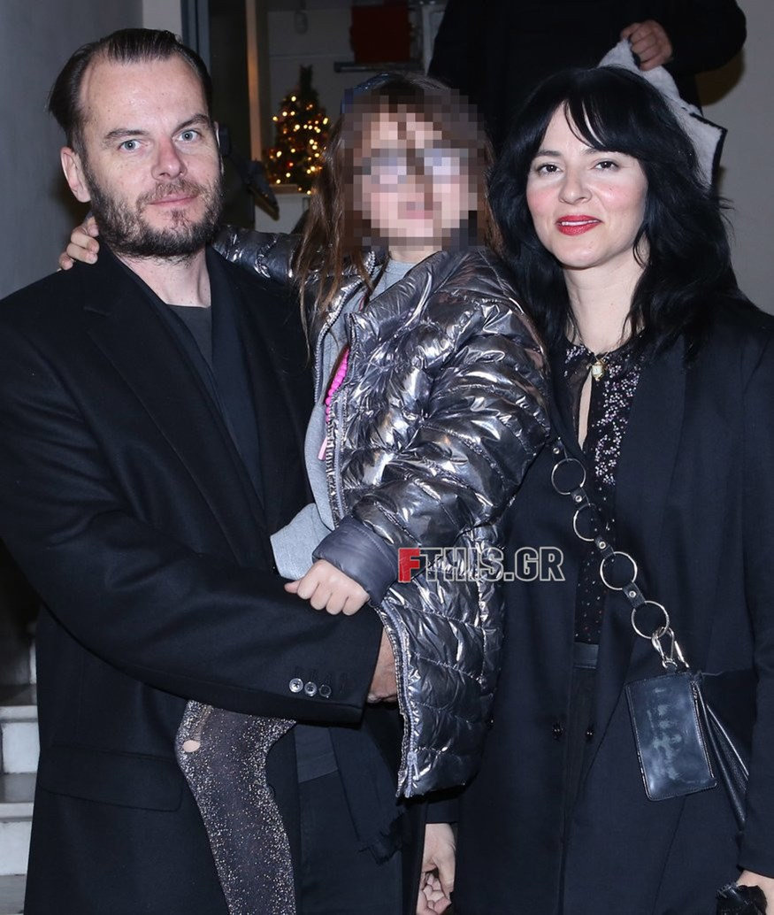 Ζενεβιέβ Μαζαρί: Σπάνια δημόσια έξοδος με τον σύζυγο και την κόρη τους