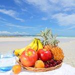 Υγιεινά σνακ για την παραλία