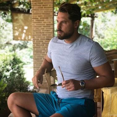 Νάσος Παπαργυρόπουλος: Δείτε τον παίκτη του Nomads σε throwback φωτογραφία από σαλόνι του σπιτιού του