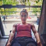 Φωτεινή Αθερίδου: Αυτή την γυμναστική κάνει στον πέμπτο μήνα της εγκυμοσύνης της!