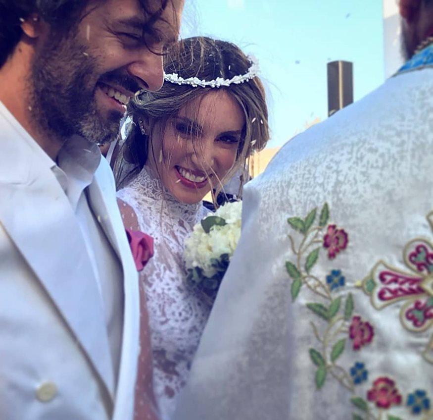 Πήγαν μαζί στον γάμο της Οικονομάκου διαψεύδοντας έτσι τις φήμες για τον χωρισμό τους
