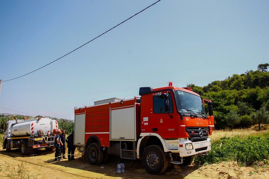 Συναγερμός για φωτιά στη Ζάκυνθο