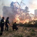 Θρίλερ στην Εύβοια: Ηλικιωμένος δεν εγκαταλείπει το σπίτι του παρά τις προειδοποιήσεις της Πυροσβεστικής