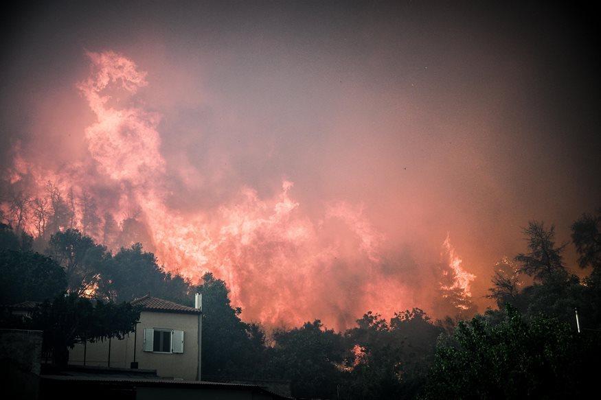 Κι άλλη φωτιά ξέσπασε στην Εύβοια