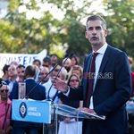 Κώστας Μπακογιάννης: Με την Σία Κοσιώνη και τον γιο τους στην τελετή ορκωμοσίας για τον Δήμο Αθηναίων!