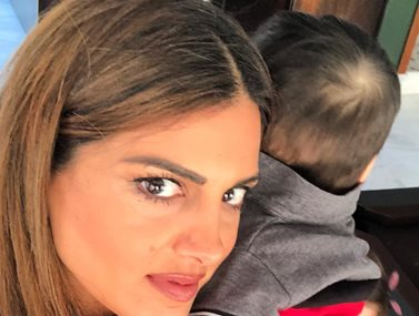 Σταματίνα Τσιμτσιλή: Έτσι περνάει τα απογεύματα στο σπίτι της με τον γιο της