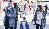 Ιωάννης Παπαζήσης και Βανέσα Αδαμοπούλου: Νέα κοινή εμφάνιση με τον 3,5 ετών γιο τους
