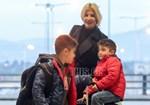 Φαίη Σκορδά: Ταξίδι αστραπή με τους γιούς της!