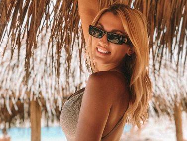 Κωνσταντίνα Σπυροπούλου: Αυτό το σνακ επιλέγει στην παραλία