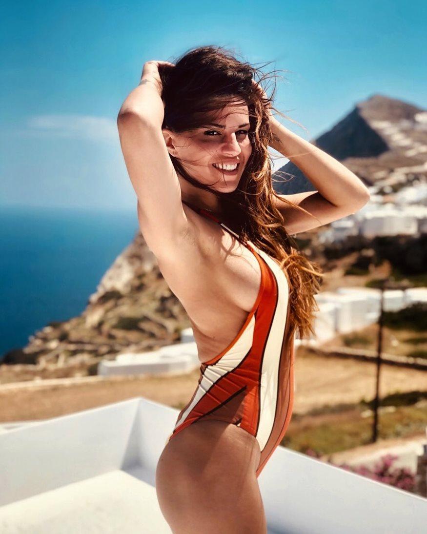 Χριστίνα Κολέτσα: Διακοπές με τον σύντροφό της, Δημήτρη Δεγαμινιώτη