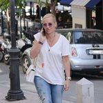 Paparazzi! Μαρία Μπεκατώρου: Χαλαρή έξοδος για ψώνια