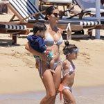 Paparazzi! Σταματίνα Τσιμτσιλή: Σε παραλία της Πάρου μαζί με τα παιδιά της
