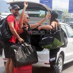 Paparazzi! Χριστίνα Μπόμπα-Σάκης Τανιμανίδης: Στο αεροδρόμιο Θεσσαλονίκης με την μητέρα του παρουσιαστή