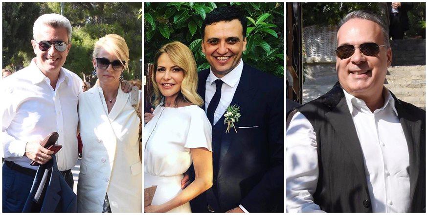 Τζένη Μπαλατσινού – Βασίλης Κικίλιας: Αυτοί είναι οι επώνυμοι καλεσμένοι που βρέθηκαν στον γάμο!