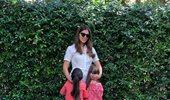 Σταματίνα Τσιμτσιλή: Η τρυφερή φωτογραφία με τα παιδιά της