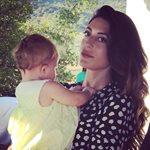 Φλορίντα Πετρουτσέλι: Φωτογραφικό υλικό από τη βάφτιση της κόρης της