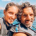 Αθηνά Οικονομάκου: Η τρυφερή φωτογραφία με τον σύζυγό της