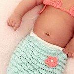 H celebrity μανούλα έντυσε τη νεογέννητη κορούλα της γοργόνα!