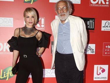 Αλέξανδρος Λυκουρέζος - Νατάσα Καλογρίδη: Λαμπερή εμφάνιση στο πάρτυ του περιοδικού ΟΚ!