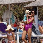 Paparazzi! Σταματίνα Τσιμτσιλή: Στην παραλία με τα παιδιά της