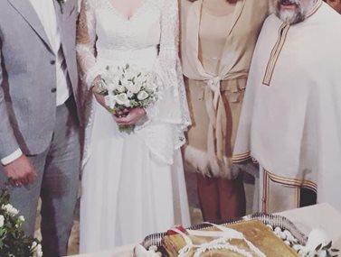 Παντρεύτηκε τον αγαπημένο της Ελληνίδα ηθοποιός!
