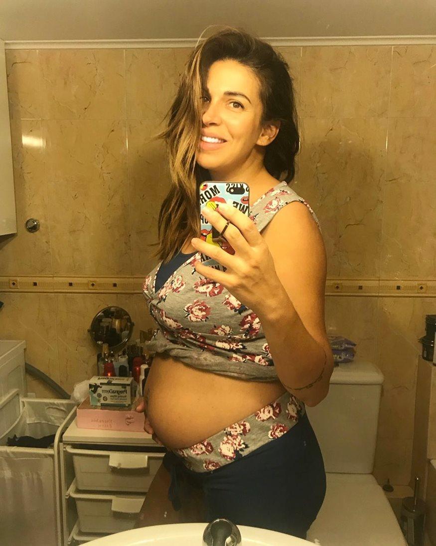Ελένη Χατζίδου: Ξεκίνησε τη γυμναστική 16 μέρες μετά τη γέννηση της κόρης της