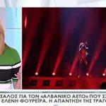 Η Τατιάνα Στεφανίδου υπερασπίζεται δημόσια την Ελένη Φουρέιρα: Λυπάμαι! Δεν θα αλλάξω τη γνώμη μου…