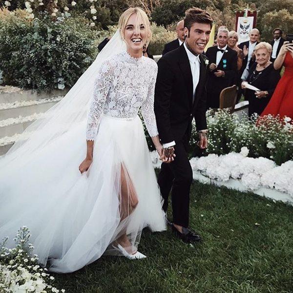 f8598472d0 Chiara Ferragni  Η πιο διάσημη fashion blogger παντρεύτηκε και ο γάμος της  ήταν παραμυθένιος!