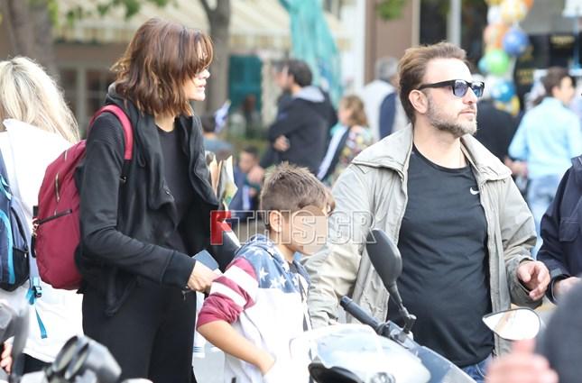 Paparazzi! Άννα Μαρία Παπαχαραλάμπους- Φάνης Μουρατίδης: Πρωινή έξοδος με τα δυο παιδιά τους!