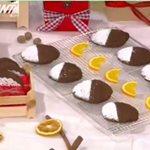Χριστουγεννιάτικα cookies με σοκολάτα, πορτοκάλι και μπαχαρικά από τον Δημήτρη Μακρυνιώτη