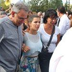Λαυρέντης Μαχαιρίτσας: Το συγκινητικό μήνυμα της κόρης του λίγες ώρες μετά την κηδεία