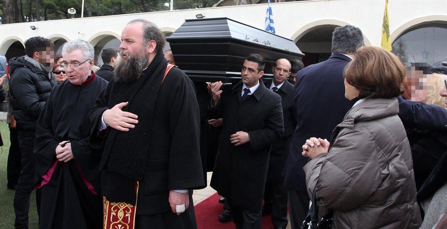 Θλίψη στην κηδεία του ηθοποιού Αριστοτέλη Αποσκίτη
