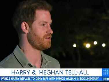 Ο πρίγκιπας Χάρι μιλάει πρώτη φορά on camera για τα προβλήματα με τον αδερφό του