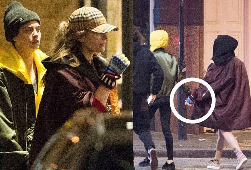 Ζευγάρι η Πάρις Τζάκσον με την Κάρα Ντελεβίν; Περπατάνε πιασμένες χέρι-χέρι και οι φήμες οργιάζουν!