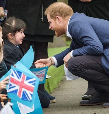 Πρίγκιπας Χάρι: Το χαριτωμένο μήνυμα που δέχτηκε από μαθητές για το βασιλικό μωρό