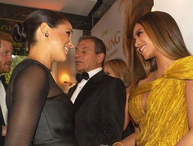Beyonce: Έσπασε το βασιλικό πρωτόκολλο όταν συναντήθηκε με τη Μέγκαν Μαρκλ;